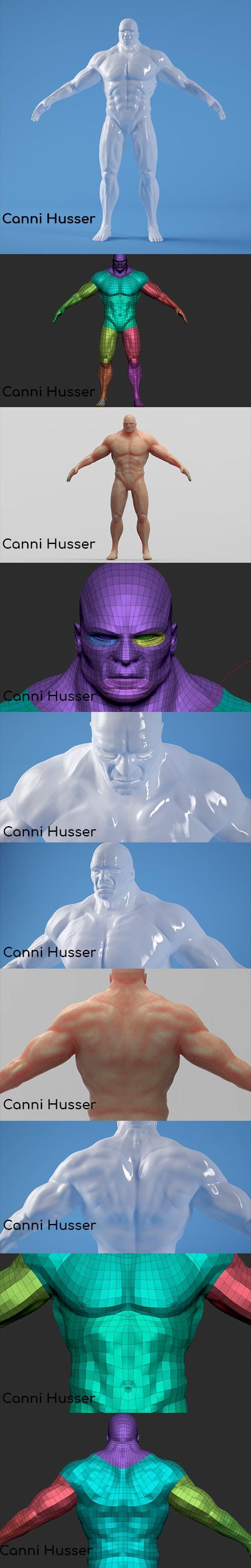 Body Man - 3DOcean Item for Sale