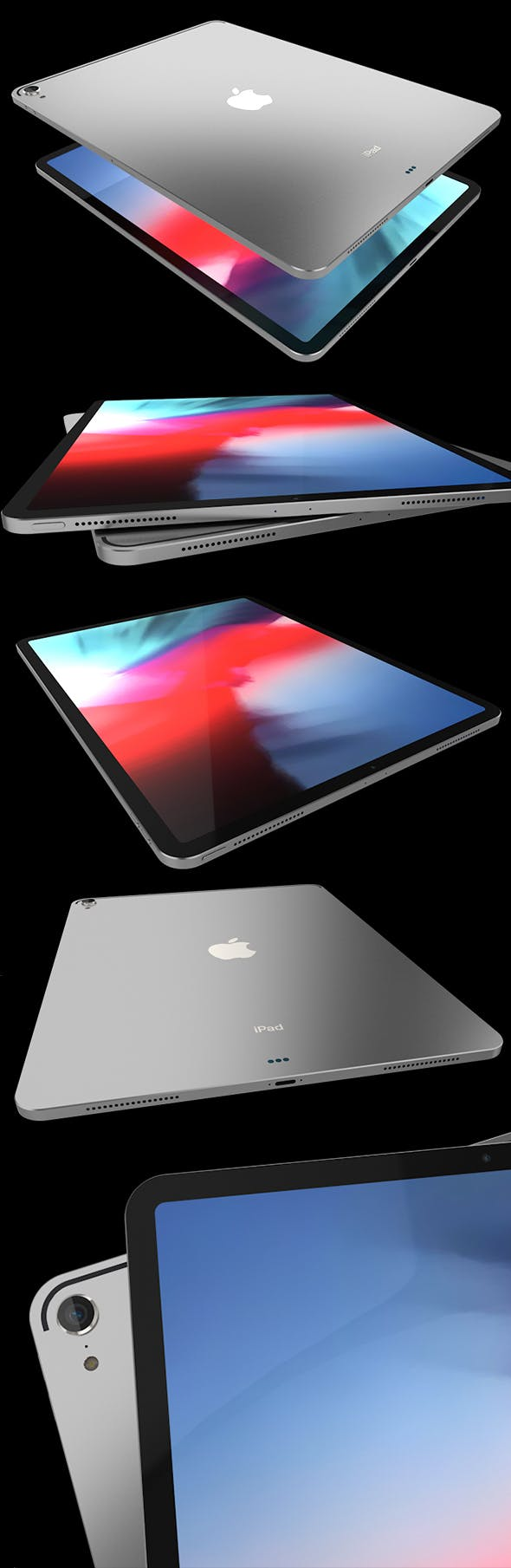 iPad Pro 2019 - 3DOcean Item for Sale