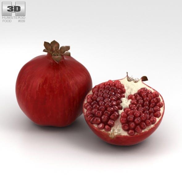 Pomegranate - 3DOcean Item for Sale