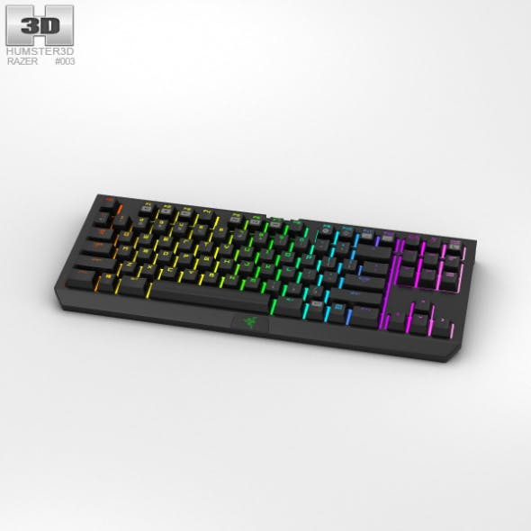 Razer BlackWidow Tournament Edition Chroma - 3DOcean Item for Sale