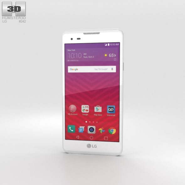 LG Tribute HD White