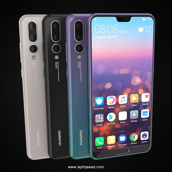 "Huawei P20 Pro "" 3 Colors """