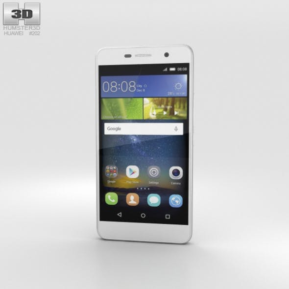 Huawei Honor Holly 2 Plus White - 3DOcean Item for Sale