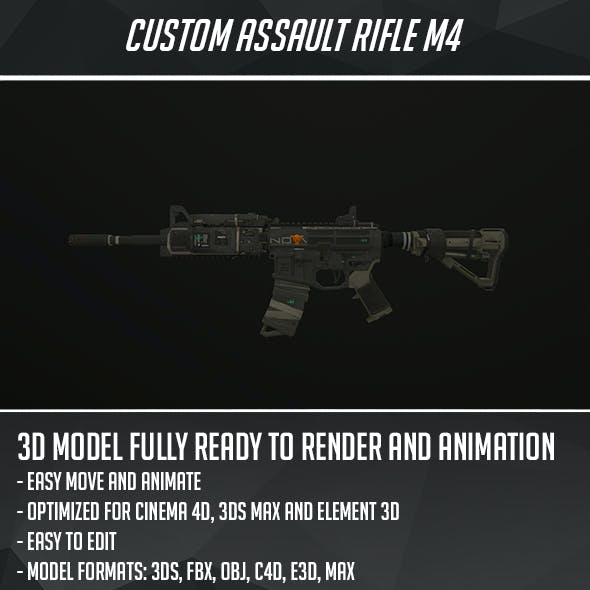 M4 Custom assault rifle