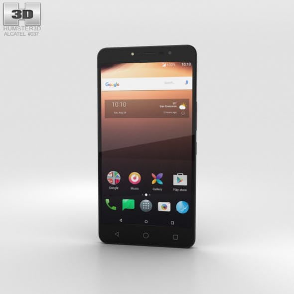 Alcatel A3 XL Black