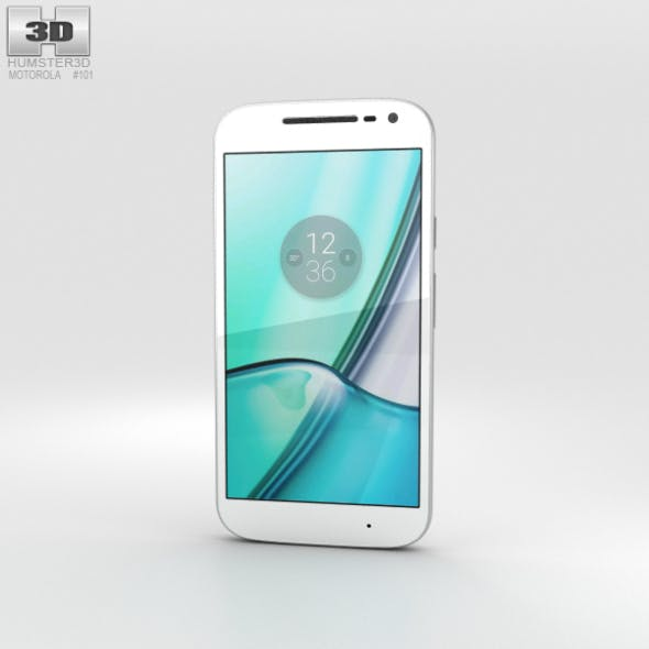 Motorola Moto G4 Play White - 3DOcean Item for Sale