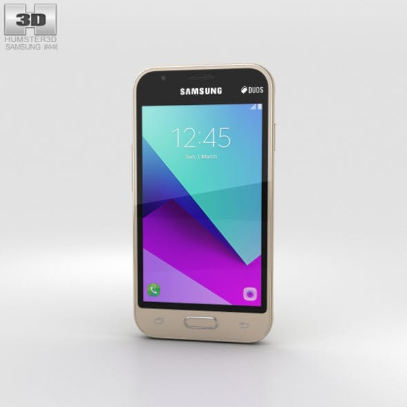 Samsung Galaxy J1 Mini Prime Gold - 3DOcean Item for Sale