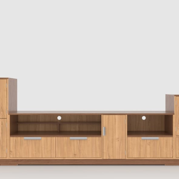 tv stand 73 - 3DOcean Item for Sale
