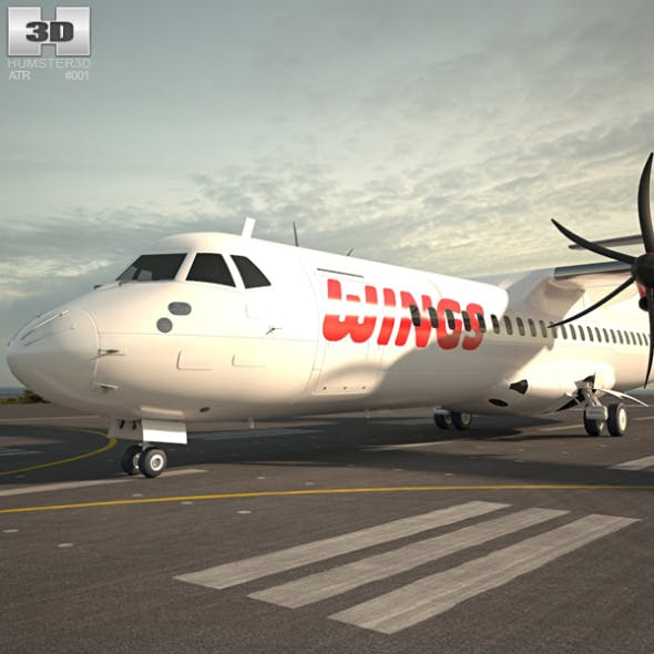 ATR 72 - 3DOcean Item for Sale