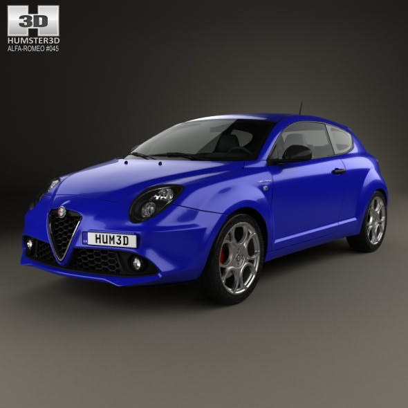 Alfa Romeo MiTo Veloce 2016 - 3DOcean Item for Sale