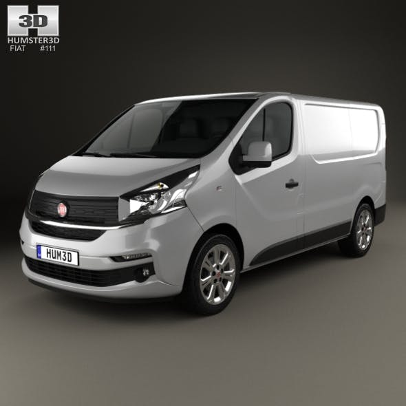 Fiat Talento Panel Van 2016 - 3DOcean Item for Sale