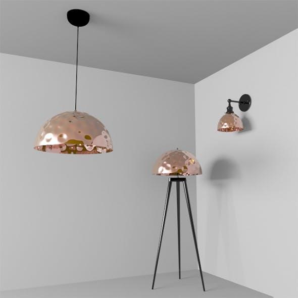 lamp set light vray 3dsmax