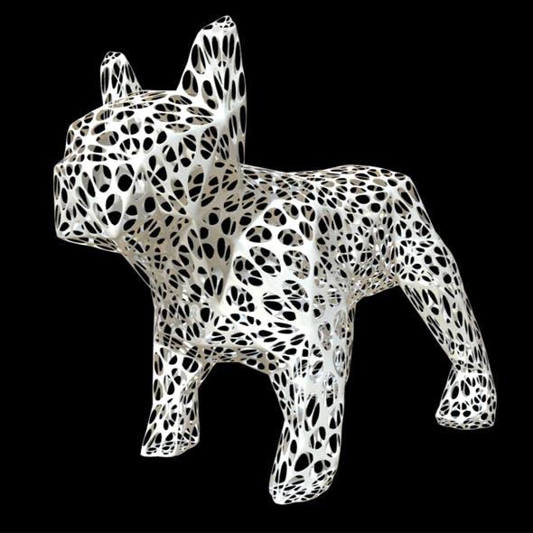 bulldog figure 2 - 3DOcean Item for Sale