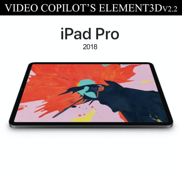 Element3D – iPad Pro 2018