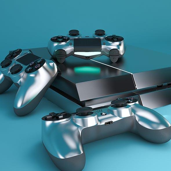 PlayStation 4 - 3DOcean Item for Sale
