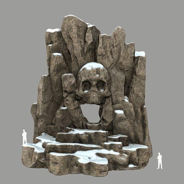 Skull_Cave 1 - 3DOcean Item for Sale