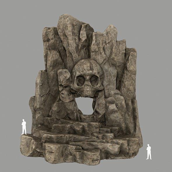 Skull_Cave 2 - 3DOcean Item for Sale