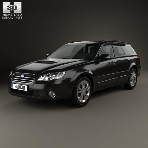 Subaru Outback 2008 - 3DOcean Item for Sale