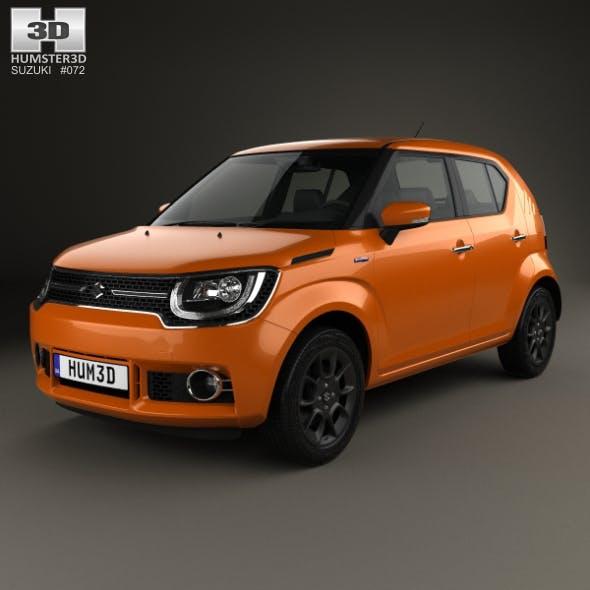 Suzuki Ignis Hybrid 2016 - 3DOcean Item for Sale