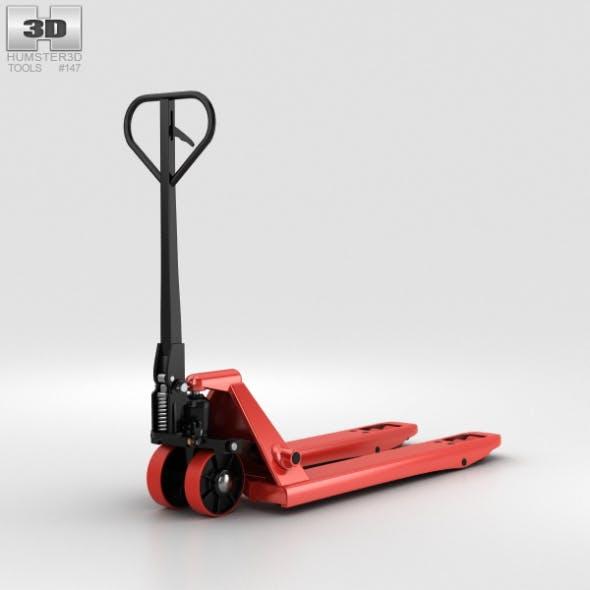Hand Pallet Truck - 3DOcean Item for Sale