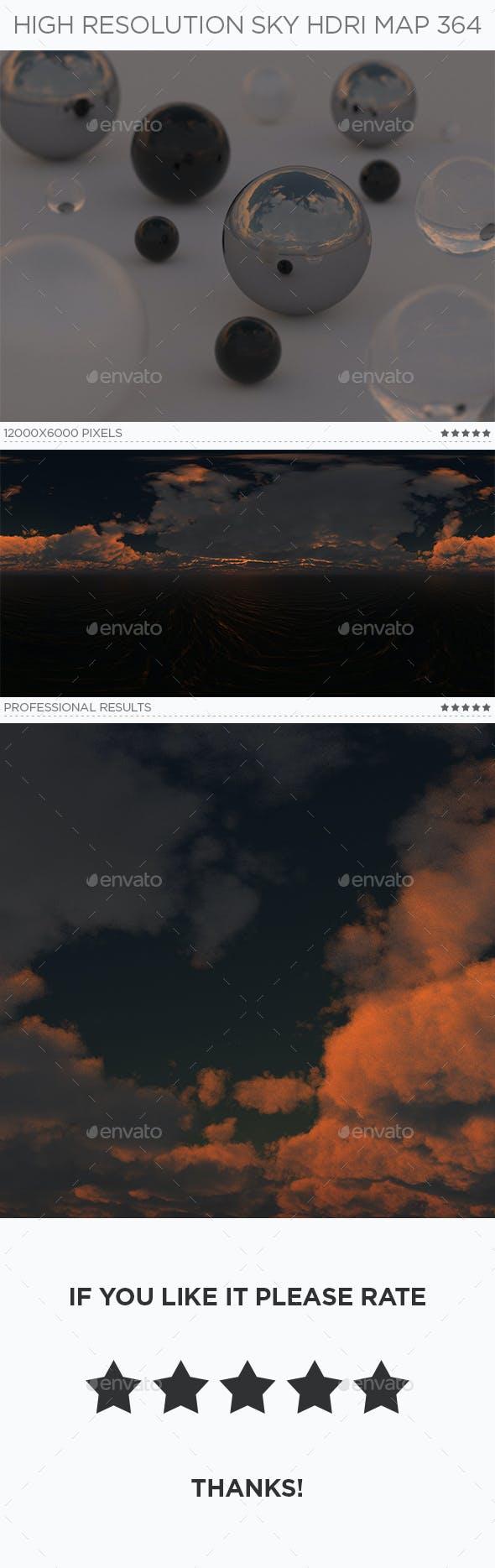 High Resolution Sky HDRi Map 364 - 3DOcean Item for Sale