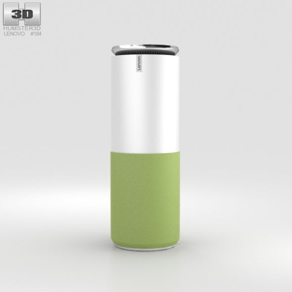 Lenovo Smart Assistant Green - 3DOcean Item for Sale