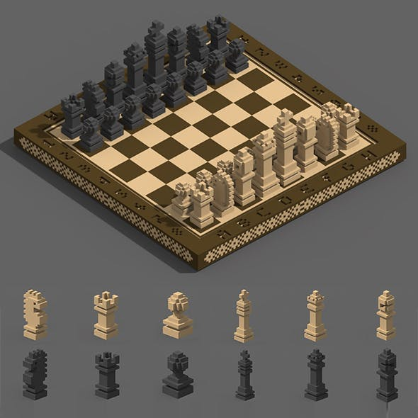 Voxel Chess
