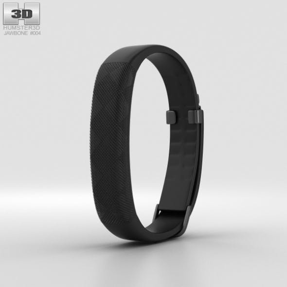 Jawbone UP2 Black Diamond Classic Flat Strap