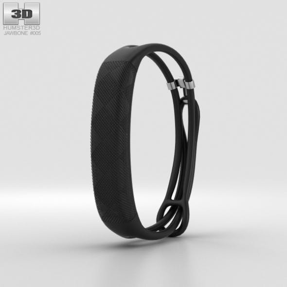 Jawbone UP2 Black Diamond Lightweight Thin Straps - 3DOcean Item for Sale