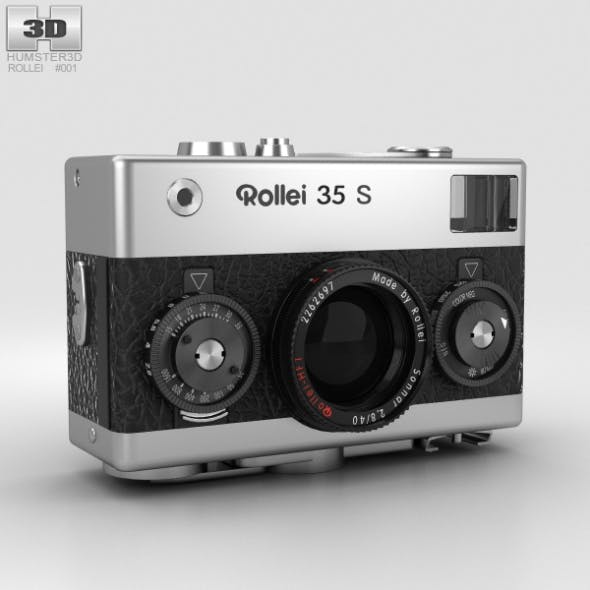 Rollei 35 S - 3DOcean Item for Sale