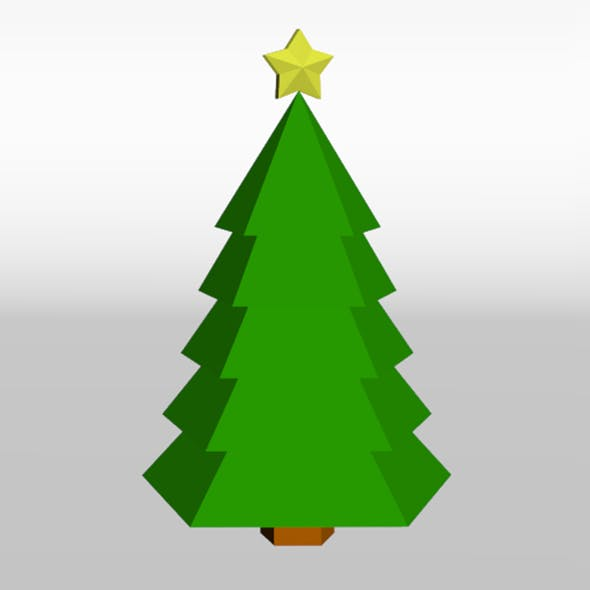 Low Poly Christmas Tree