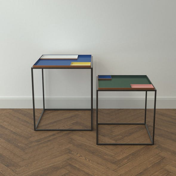 Design Side Table Fama - 3DOcean Item for Sale