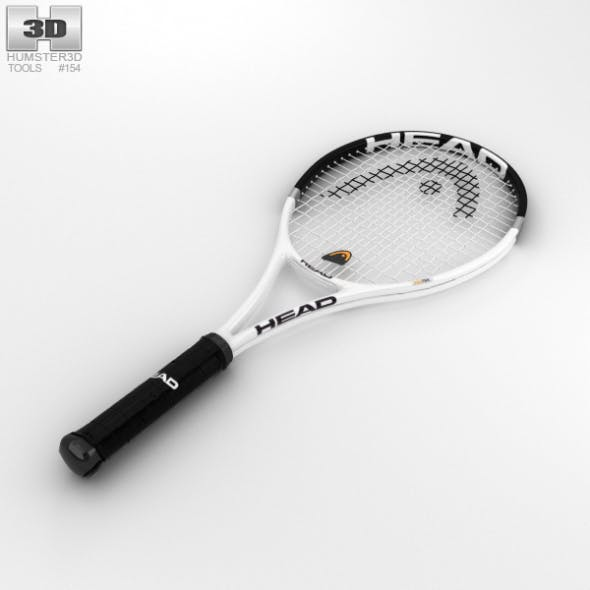 Tennis Racquet - 3DOcean Item for Sale