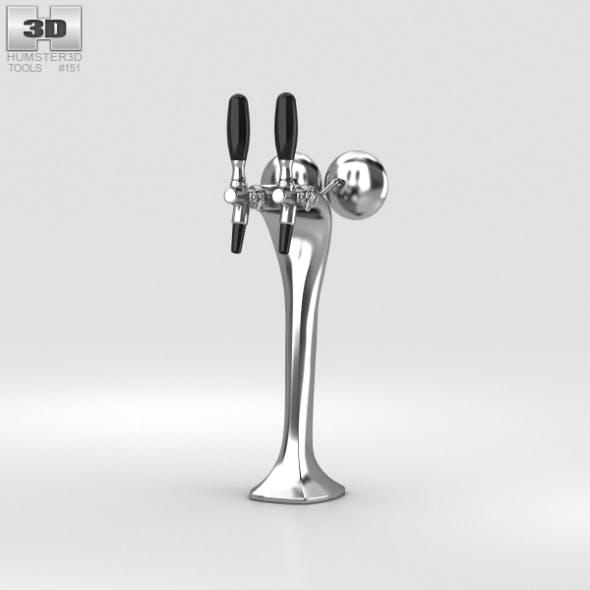 Beer Tap - 3DOcean Item for Sale