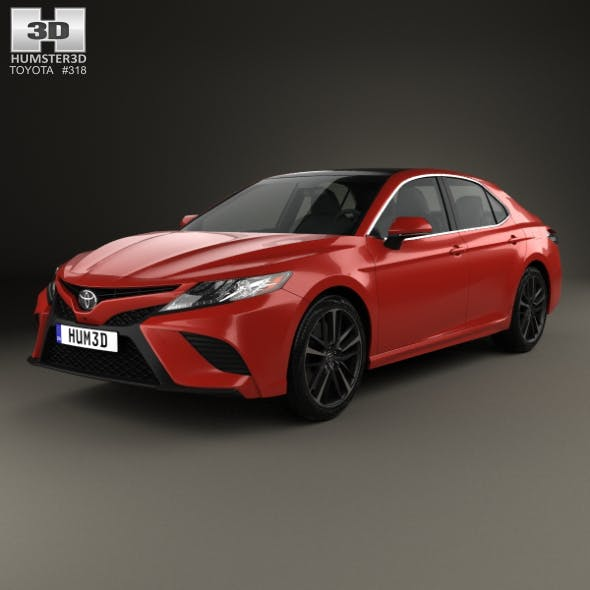 Toyota Camry XSE 2018 - 3DOcean Item for Sale