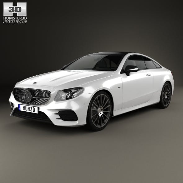 Mercedes-Benz E-Class (C238) Coupe AMG Line 2016