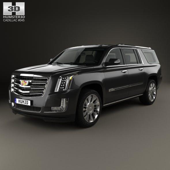 Cadillac Escalade ESV Platinum (EU) 2015