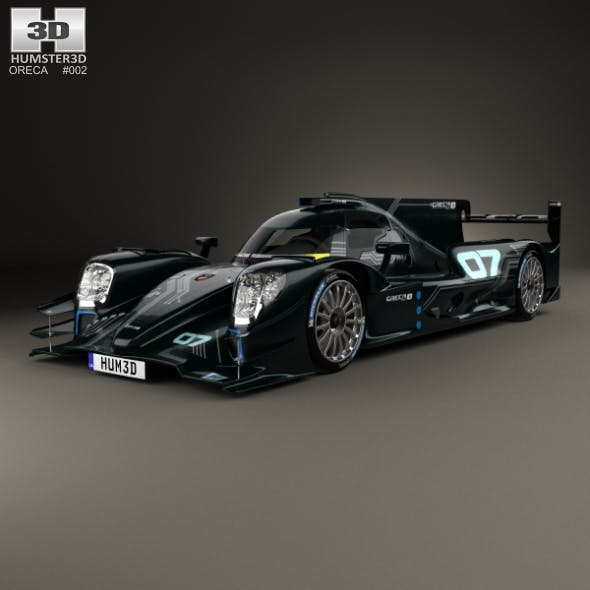 Oreca 07 LMP2 2017 - 3DOcean Item for Sale