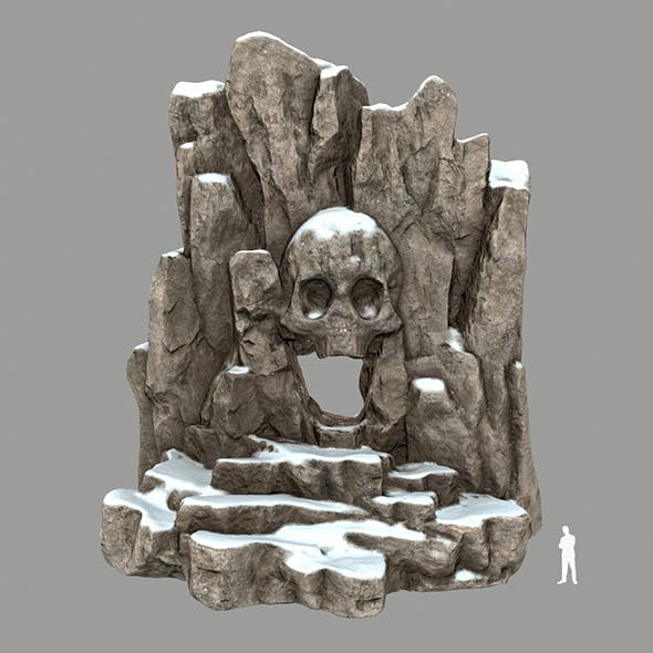 Skull_Cave - 3DOcean Item for Sale
