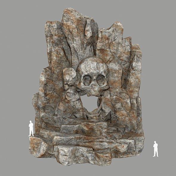 Skull_Cave - 3DOcean Item for Sale