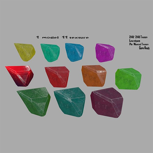 crystal_5 - 3DOcean Item for Sale
