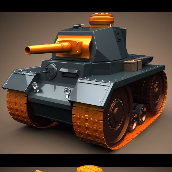 Mini Panzer Tank