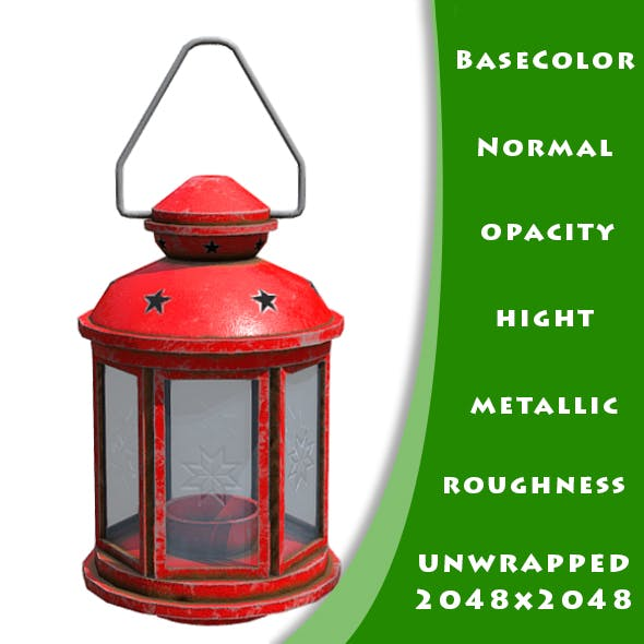 Rotera Lantern Low Poly