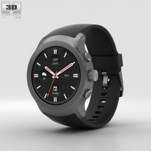 LG Watch Sport Titanium