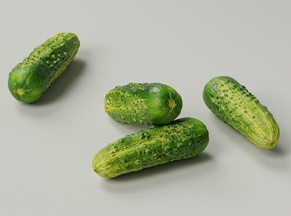 Cucumber 001 - 3DOcean Item for Sale