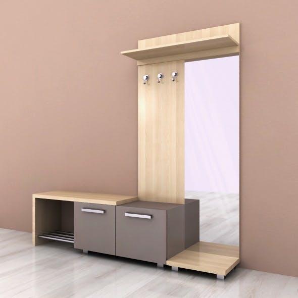 Hallway furniture 03 - 3DOcean Item for Sale