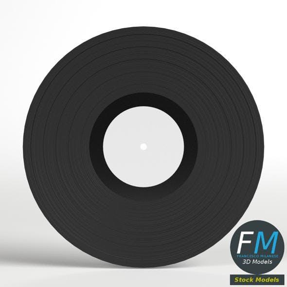 Vinyl Phonograph Record
