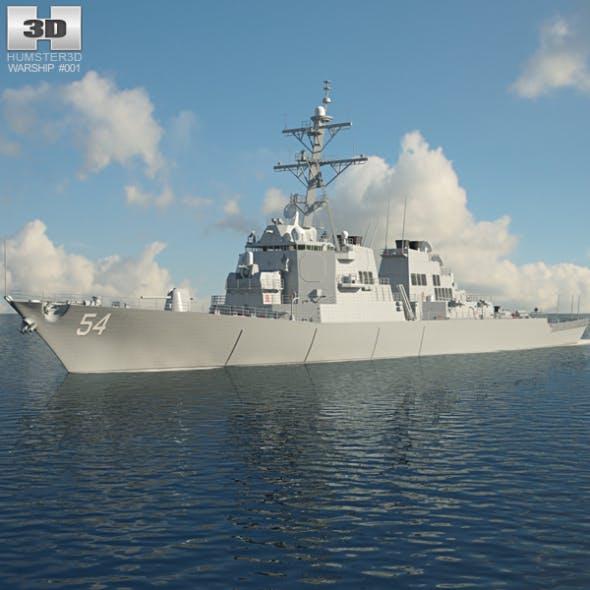 USS Arleigh Burke (DDG-51) - 3DOcean Item for Sale
