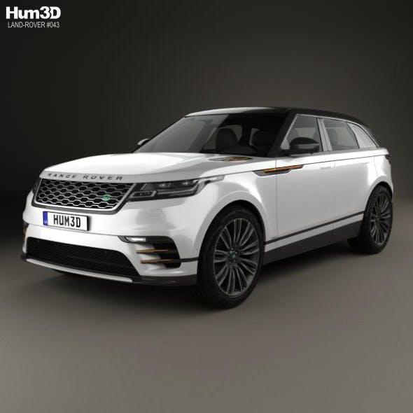 Land Rover Range Rover Velar 2018 - 3DOcean Item for Sale