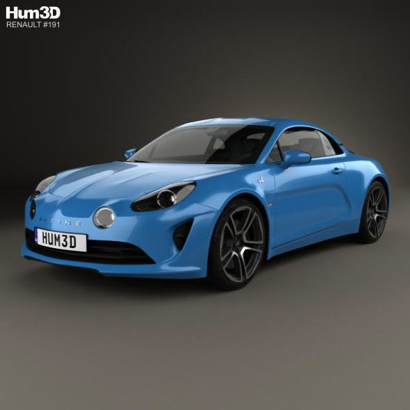 Renault Alpine A110 Premiere Edition 2017 - 3DOcean Item for Sale